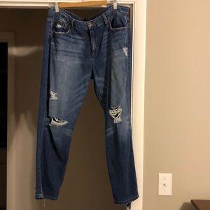 Joe's Jeans. Distressed. Boyfriend fit. Size 32.